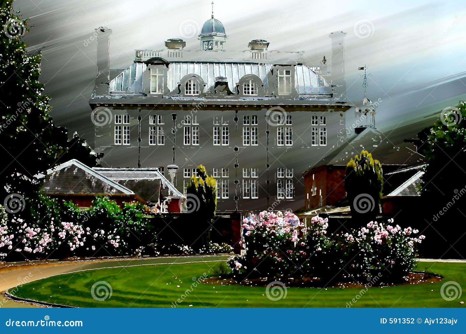 Gammal hussäteriherrgård