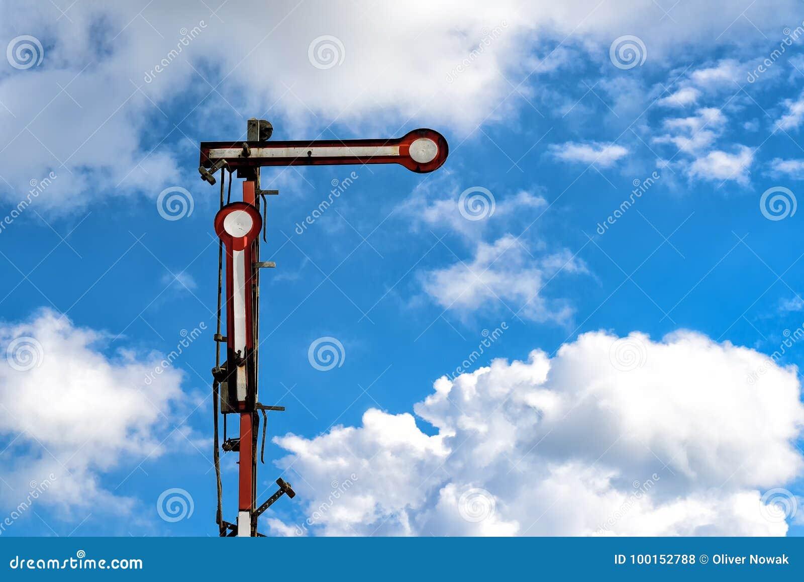 Gammal järnväg signalering