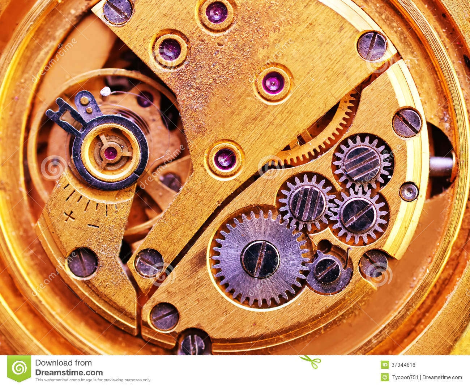 Gammal klocka