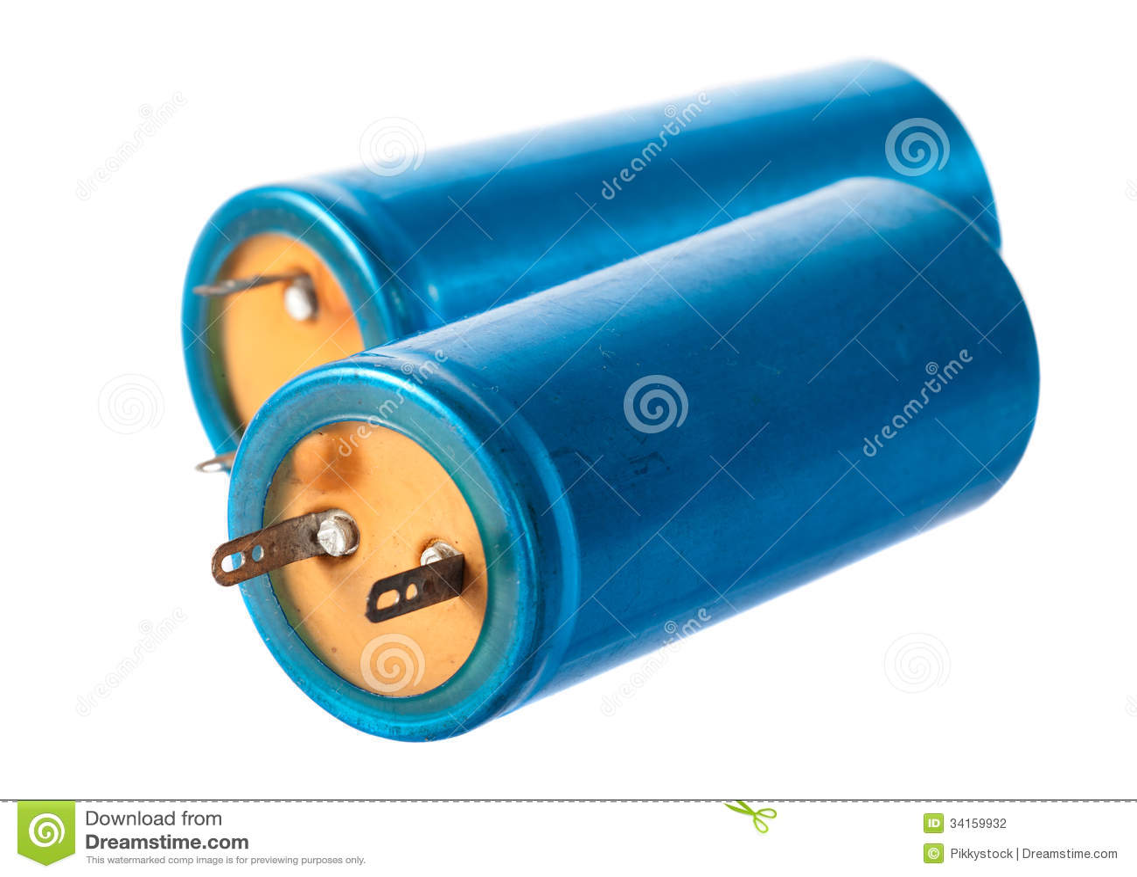 Gammal kondensator