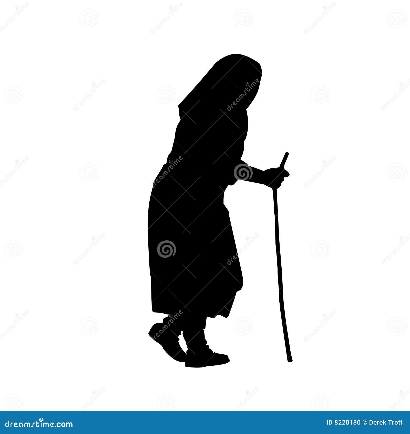 Gammal Enda Kvinna