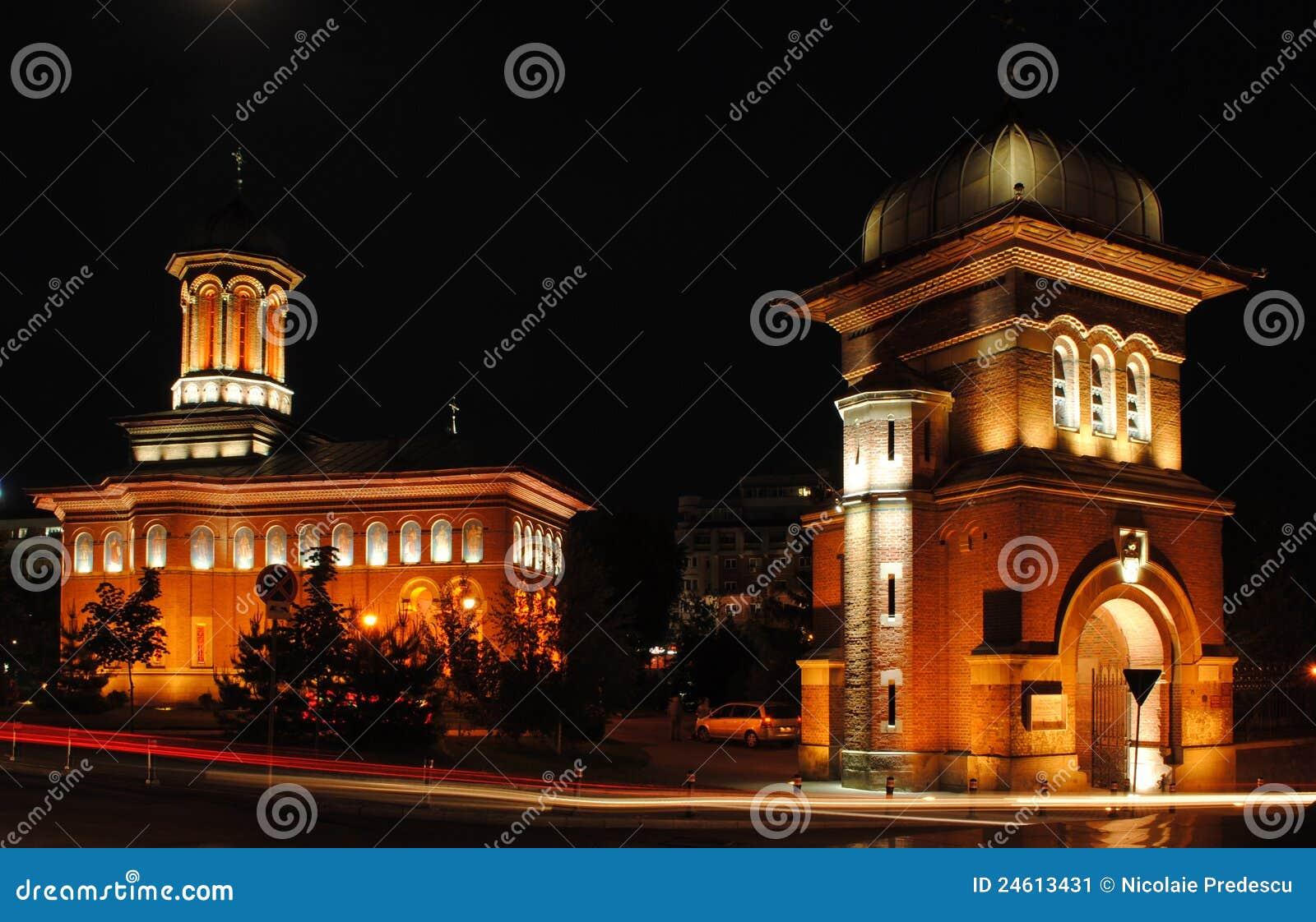 Gammal kyrka i Craiova