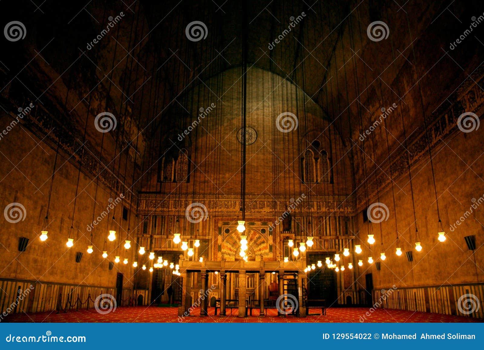 Gammal moské Egypten cairo