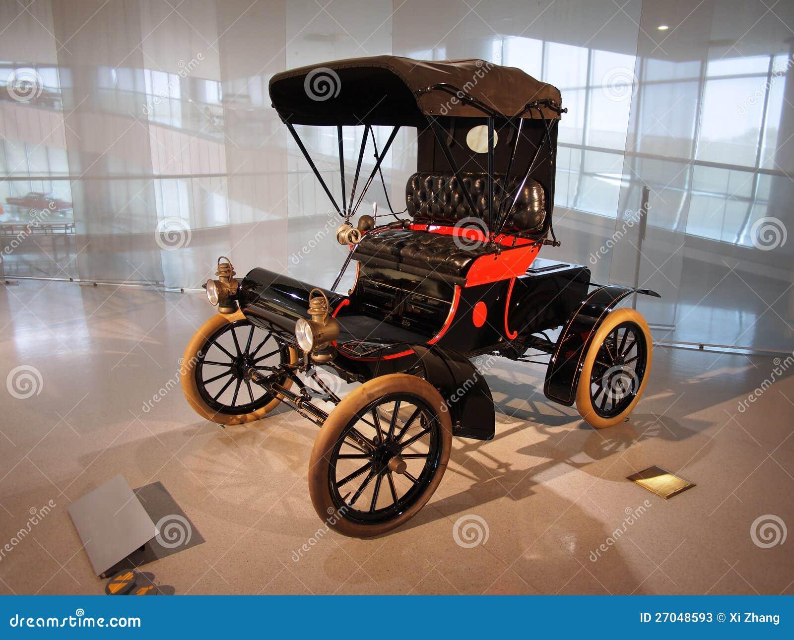 Gammal Oldsmobile bil