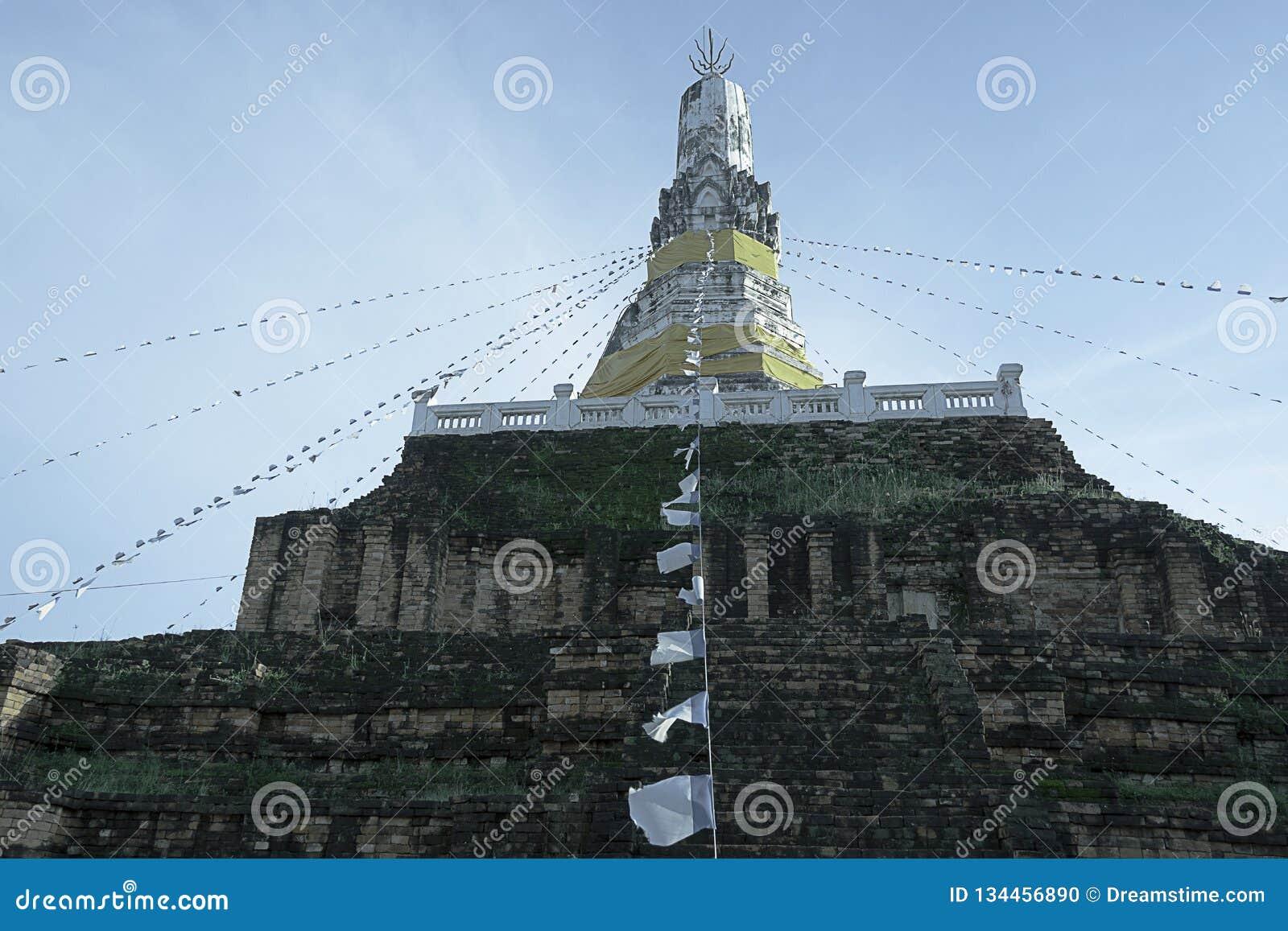 Gammal pagod i Thailand