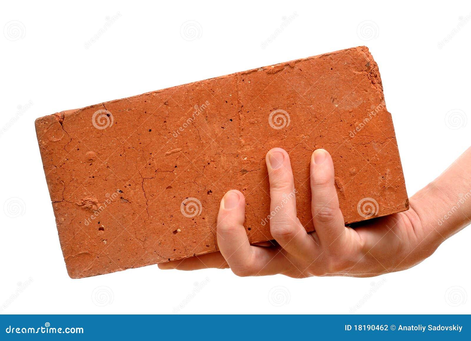 Gammal red för tegelstenhand