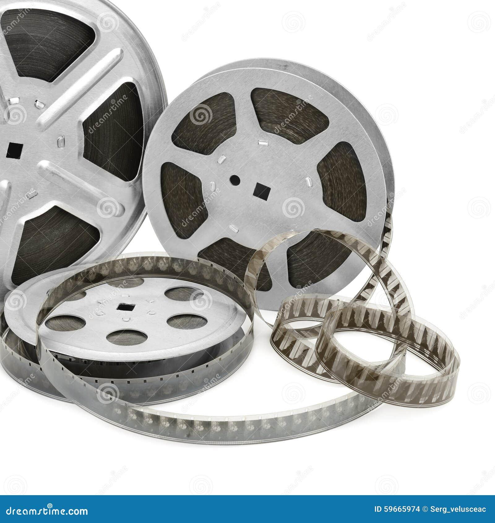 Gammal remsa för film