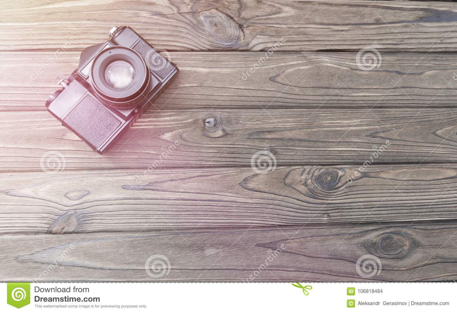 Gammal retro filmkamera bilder