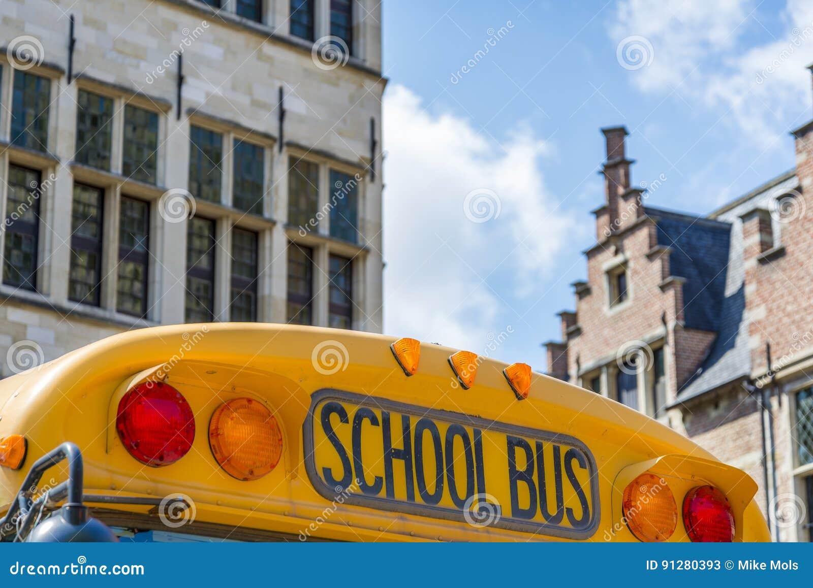 Gammal schoolbus