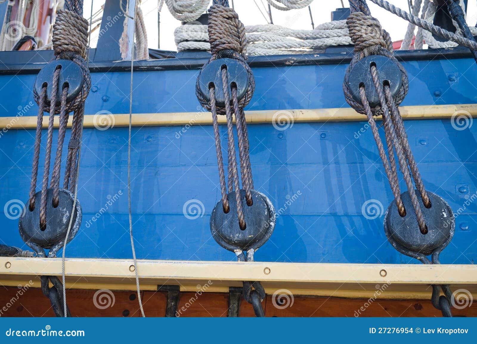 Gammal seglingship