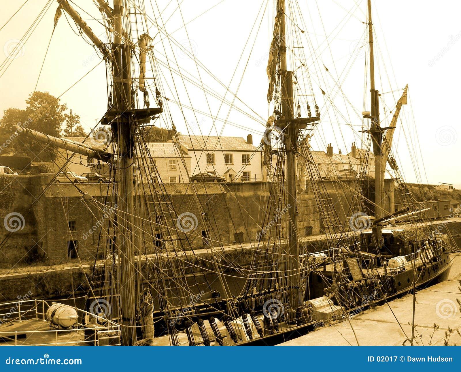 Gammal shipstil