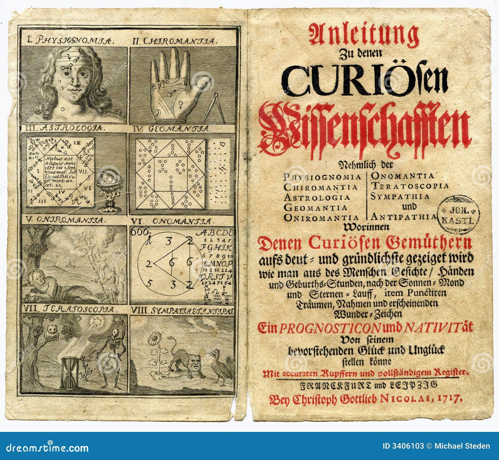 Gammal sida för 1717 bok