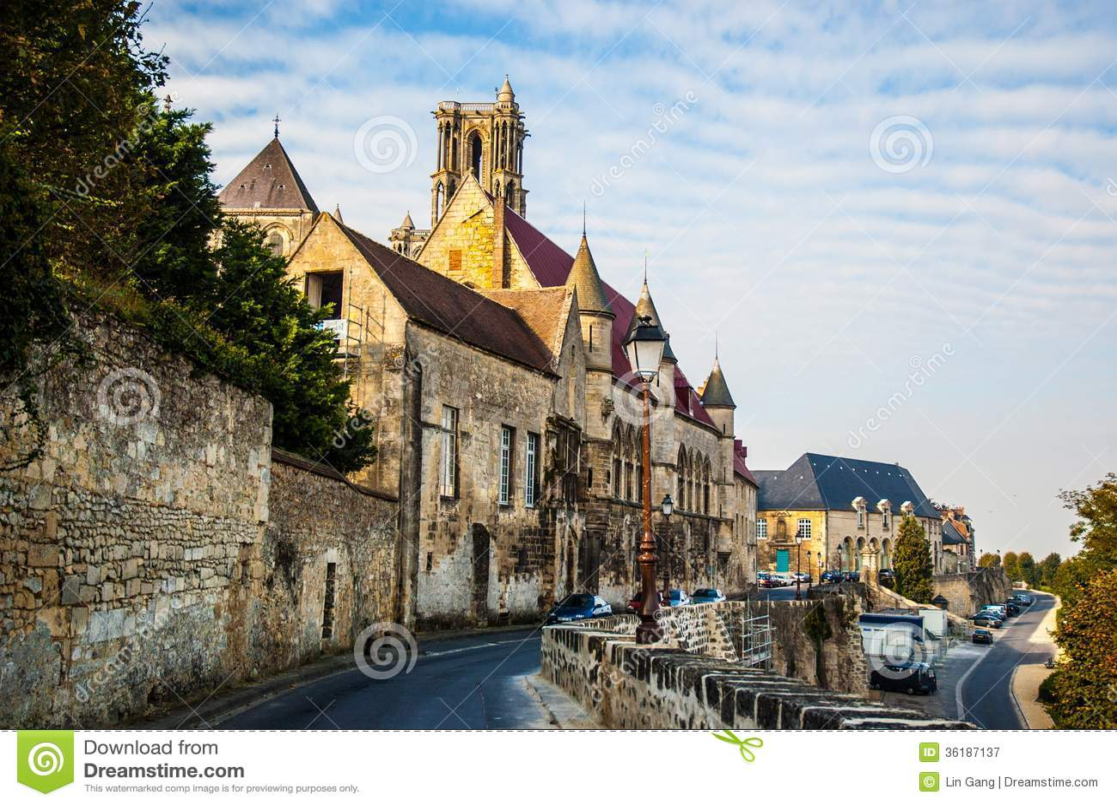 Gammal stad Laon
