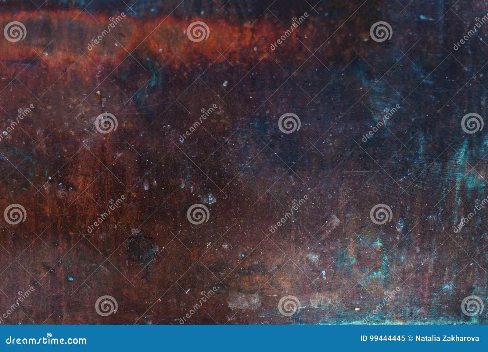 Gammal texturerad bakgrund för metall rost Bakgrund för förfallstålmetall