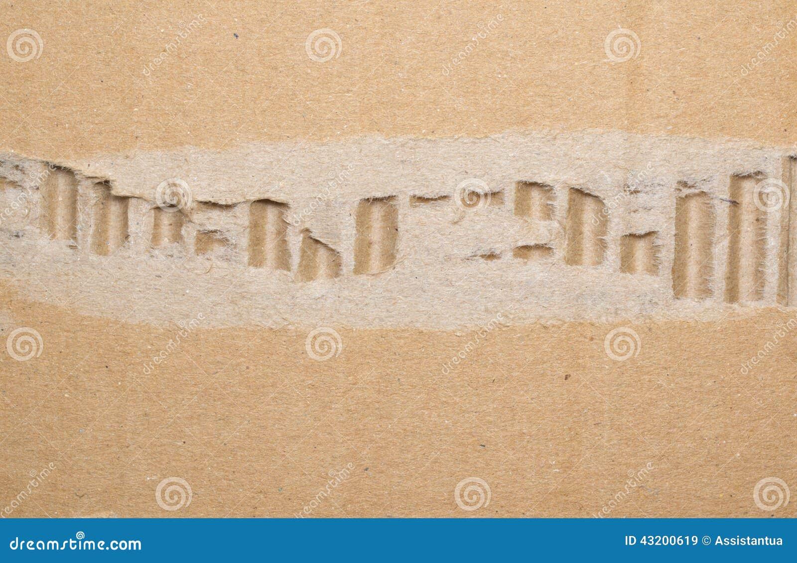 Download Gammal Texturerad Sönderriven Pappbakgrund Fotografering för Bildbyråer - Bild av gammalt, låda: 43200619