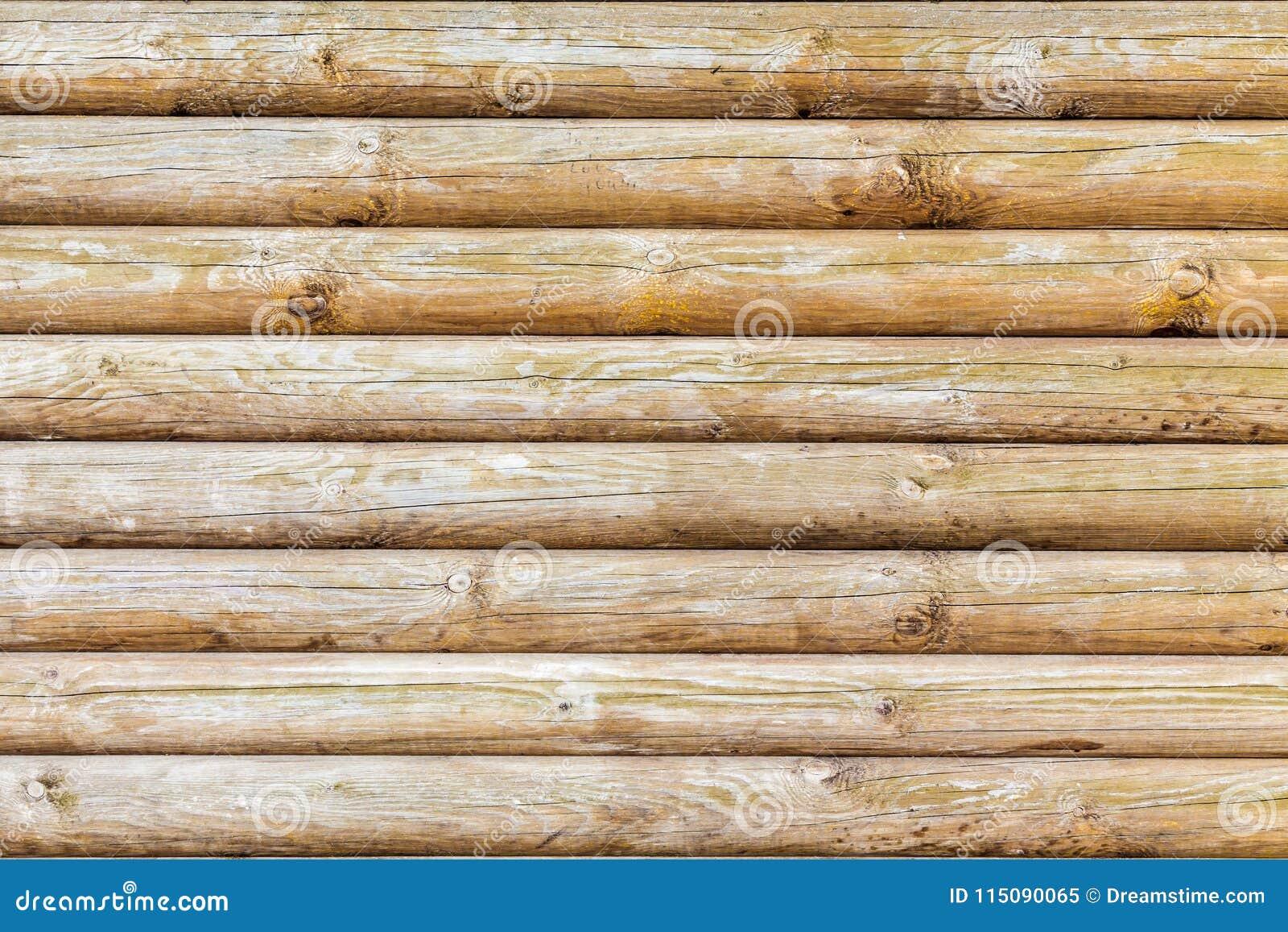 Gammal trädtextur från journaler