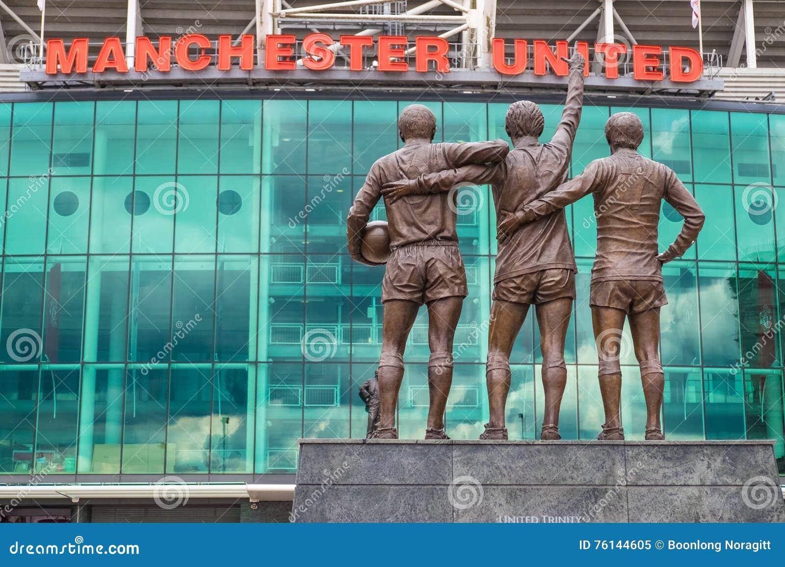 Gammal trafford, Manchester United