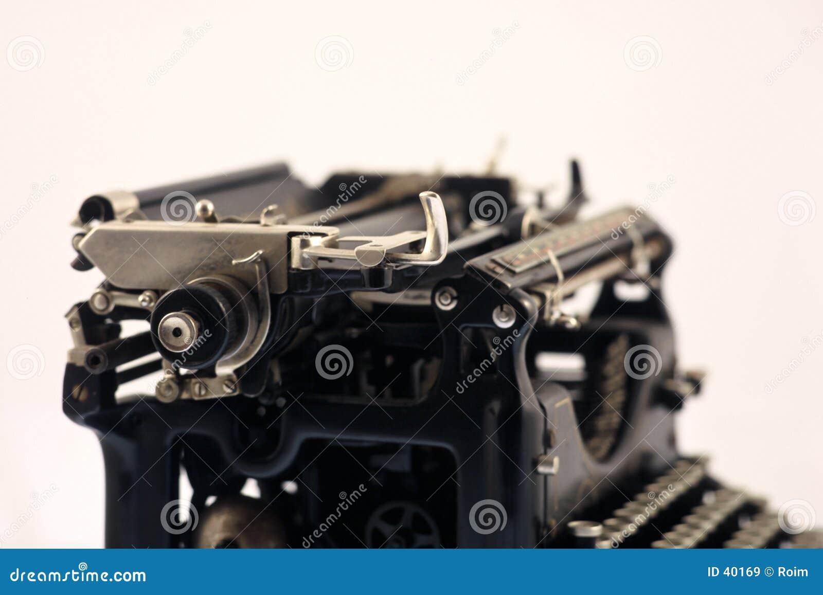 Gammal typewritter