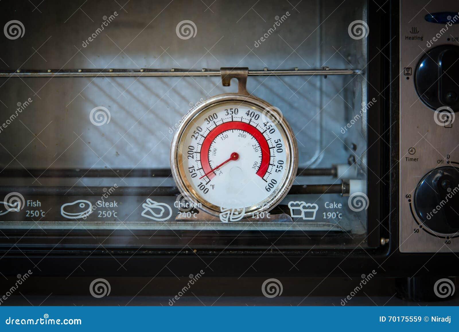Gammal ugnstermometer