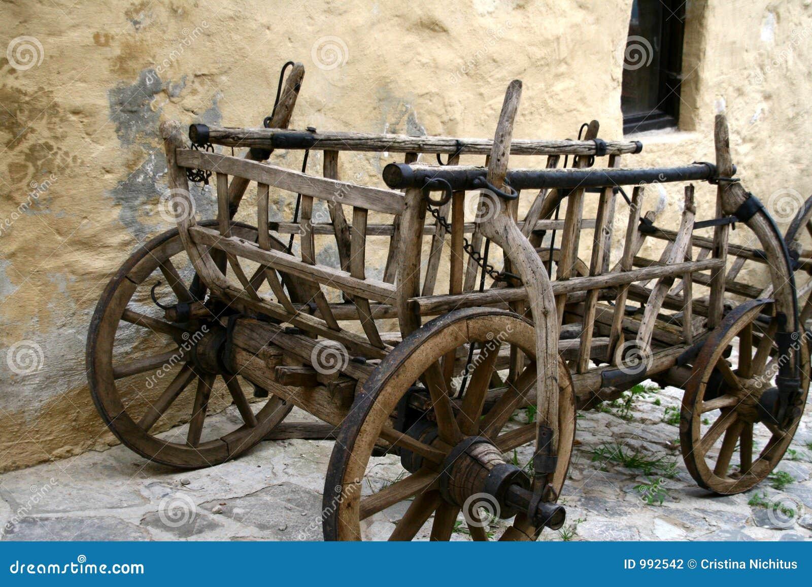 Gammal vagn