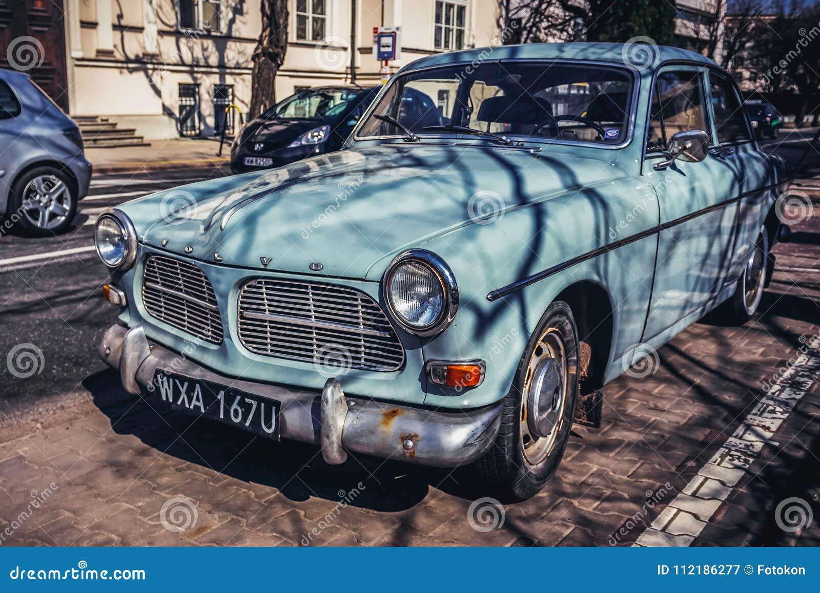 Gammal Volvo Bil Redaktionell Arkivbild Bild Av Volvo 112186277