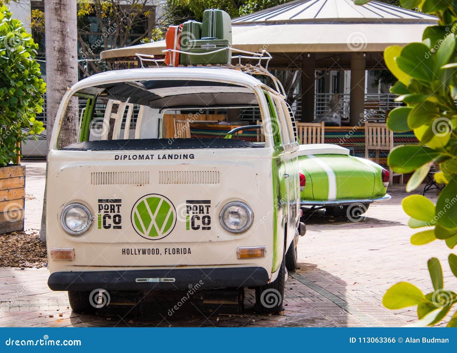 Gammal VW bussar