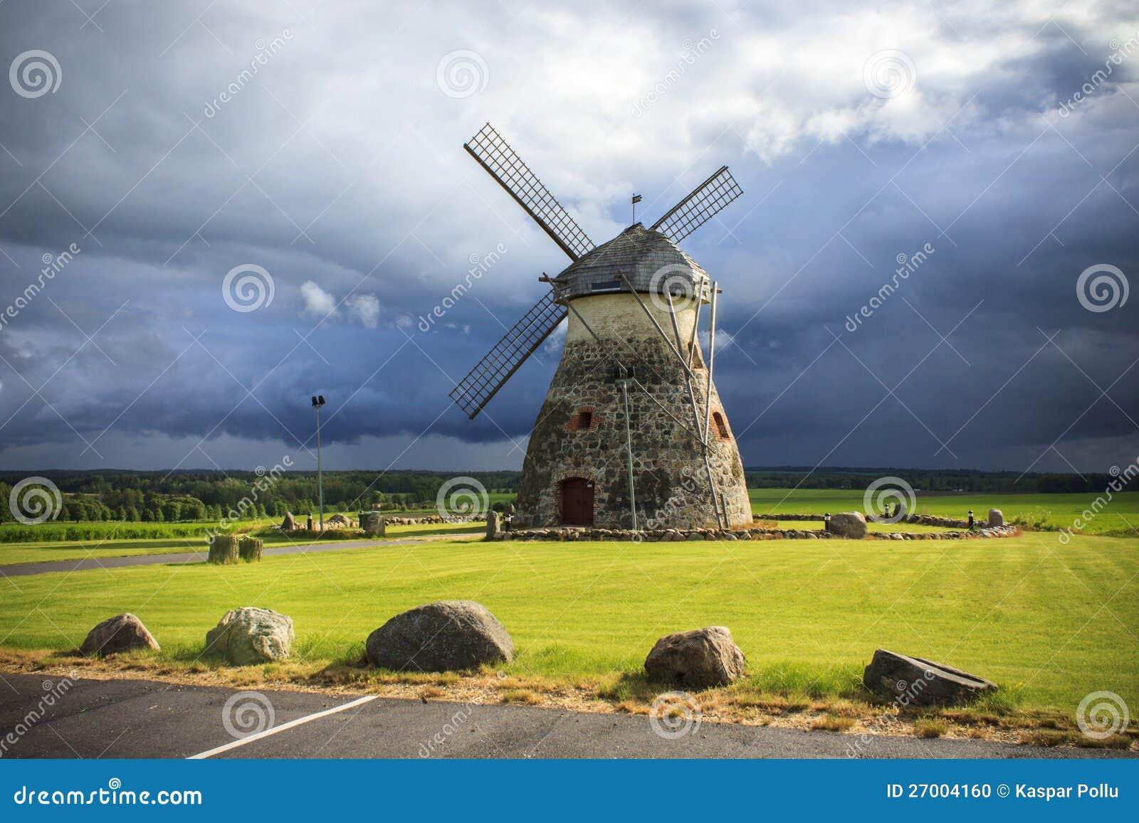Gammal windmill