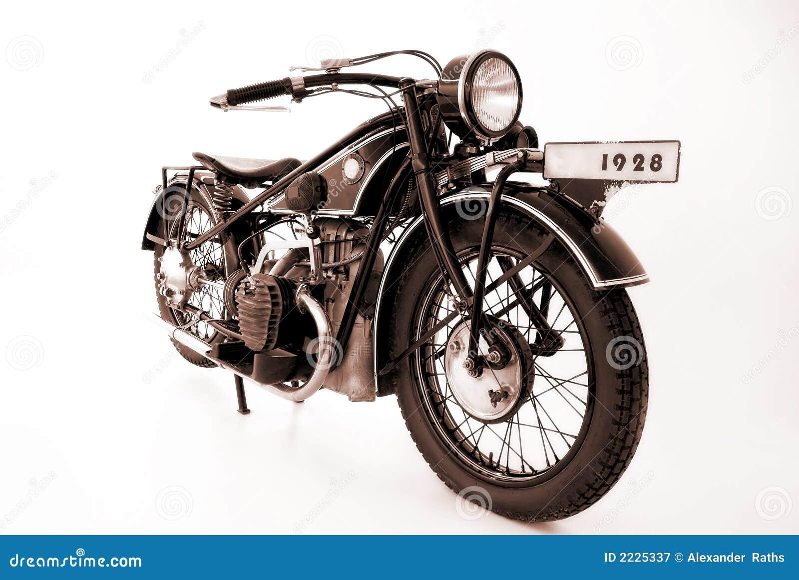 Gammala motorbikes