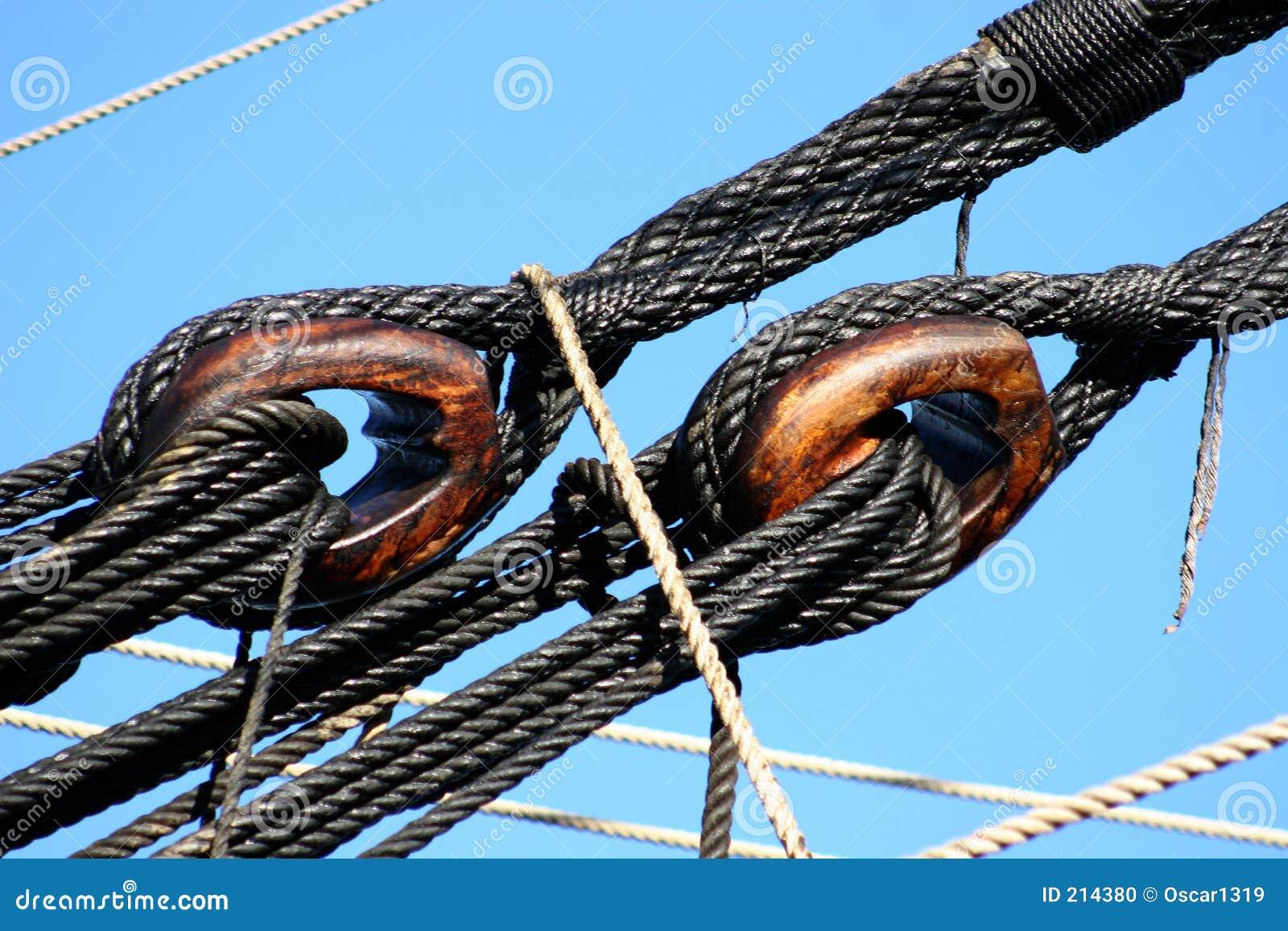 Gammala redskap för fartyg