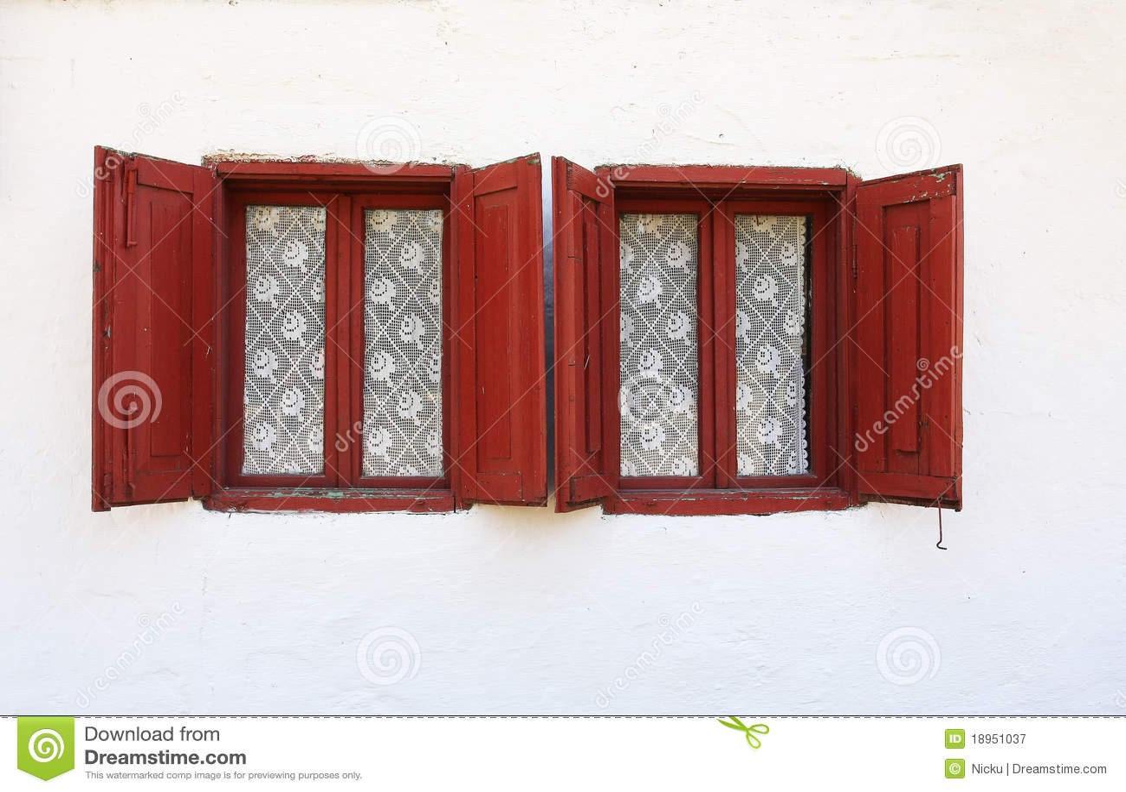 Gammala slutarefönster