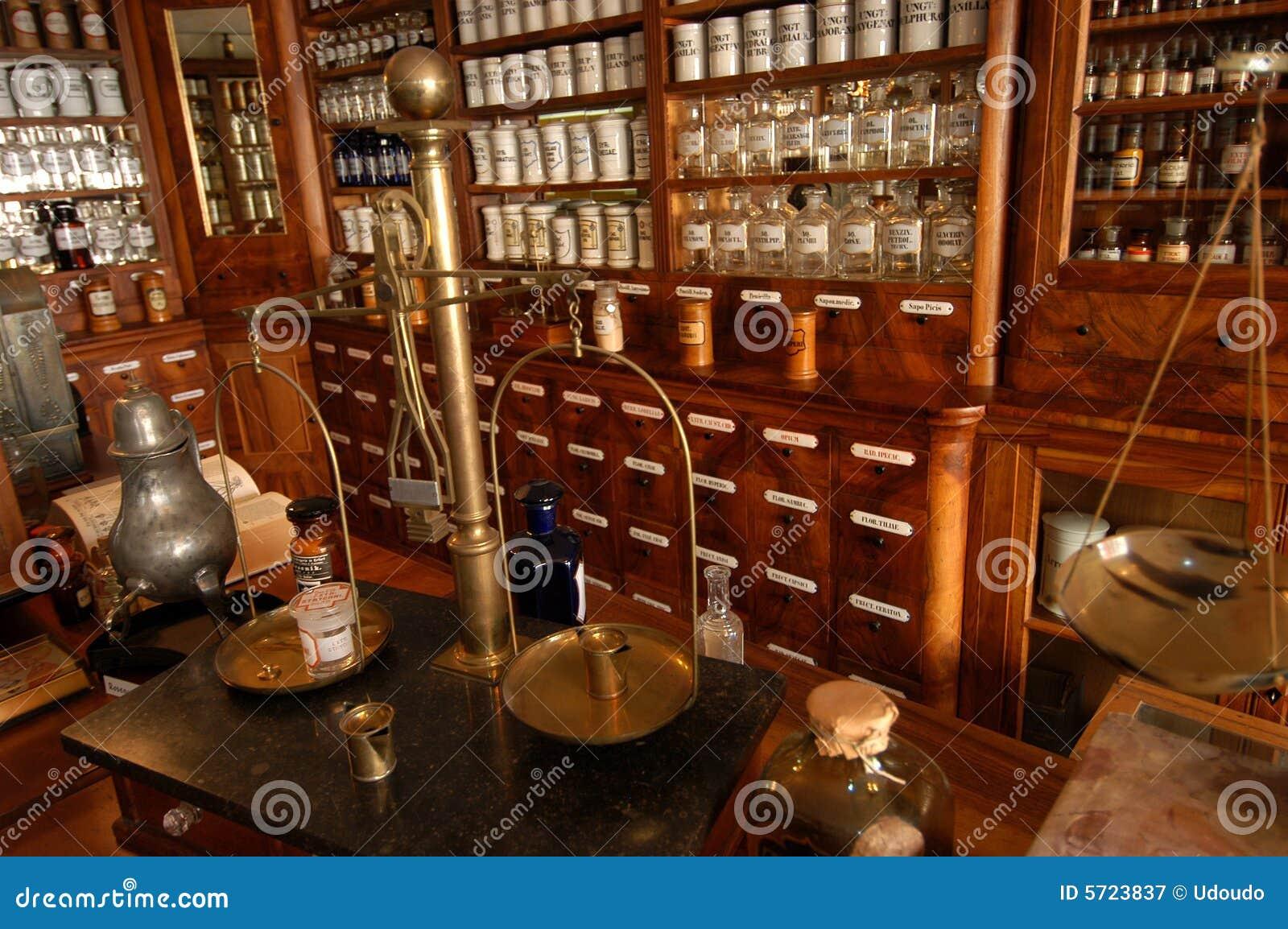 Gammalt apotek