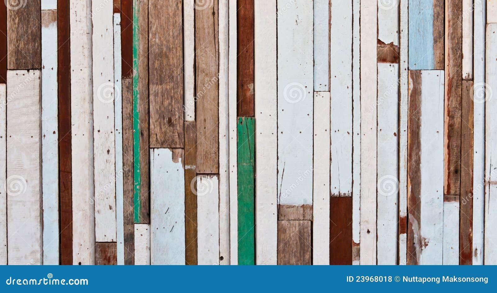 Gammalt att wall trä