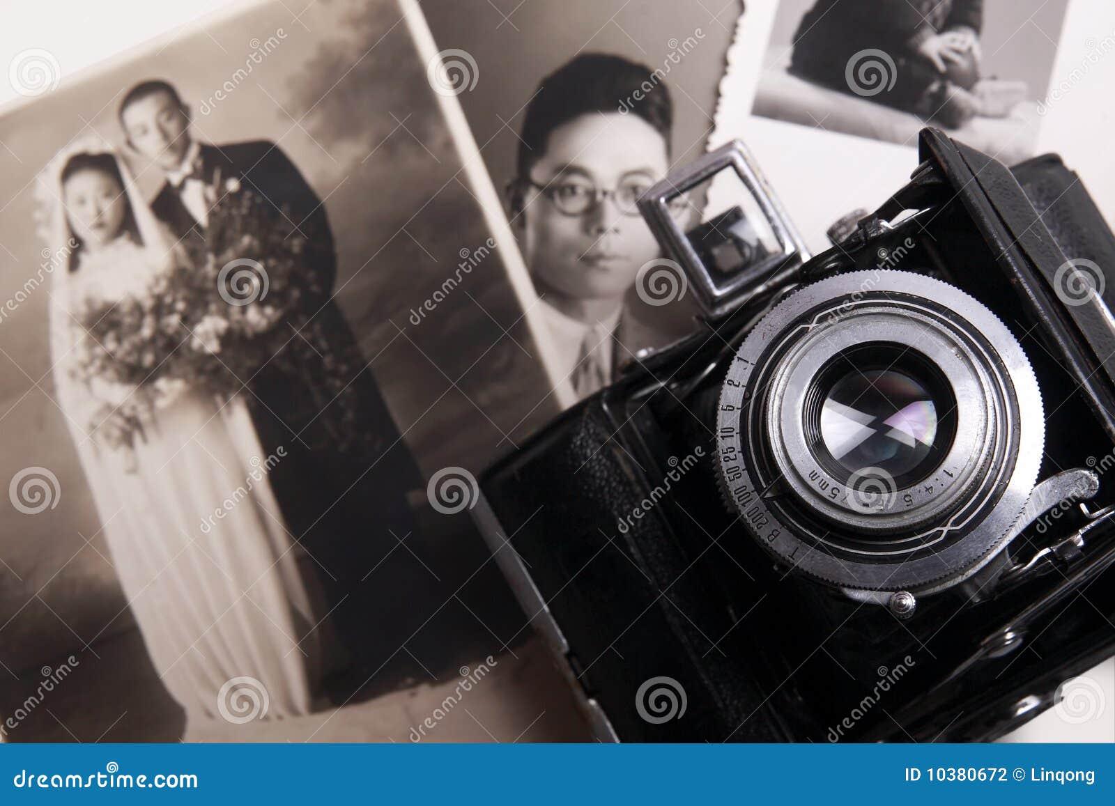 Gammalt foto för kamera