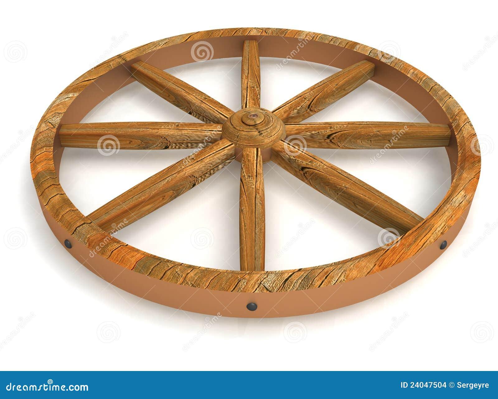 Gammalt hjul