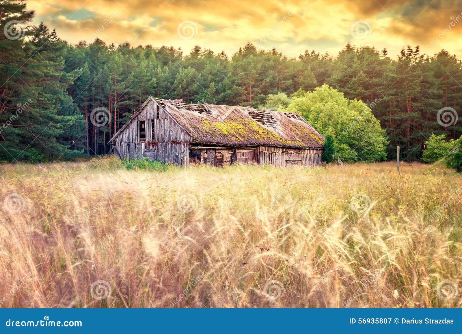 Gammalt ladugårdfält