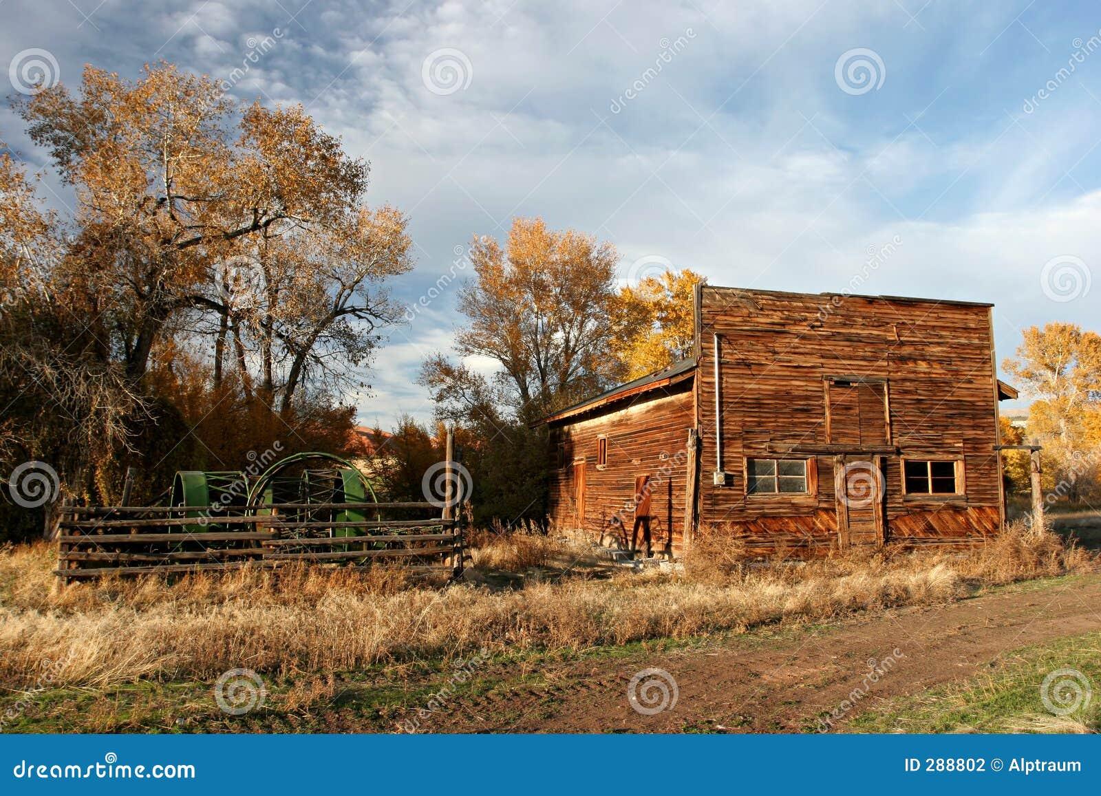 Gammalt lantbrukarhem