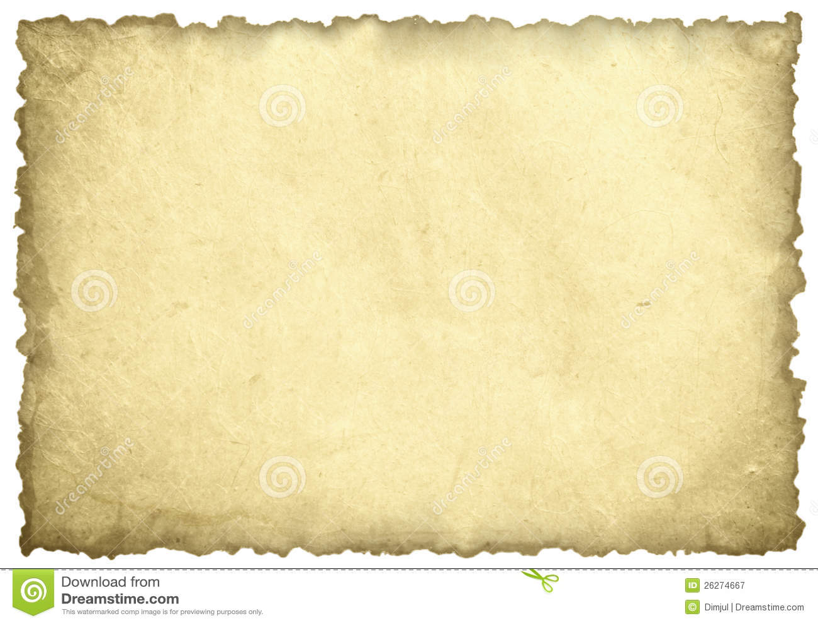 Gammalt paper ark