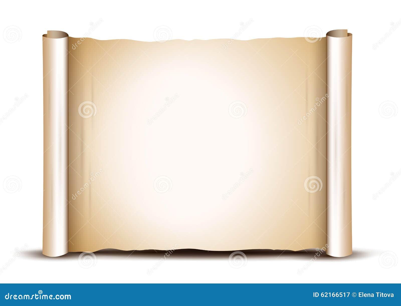 Gammalt paper baner