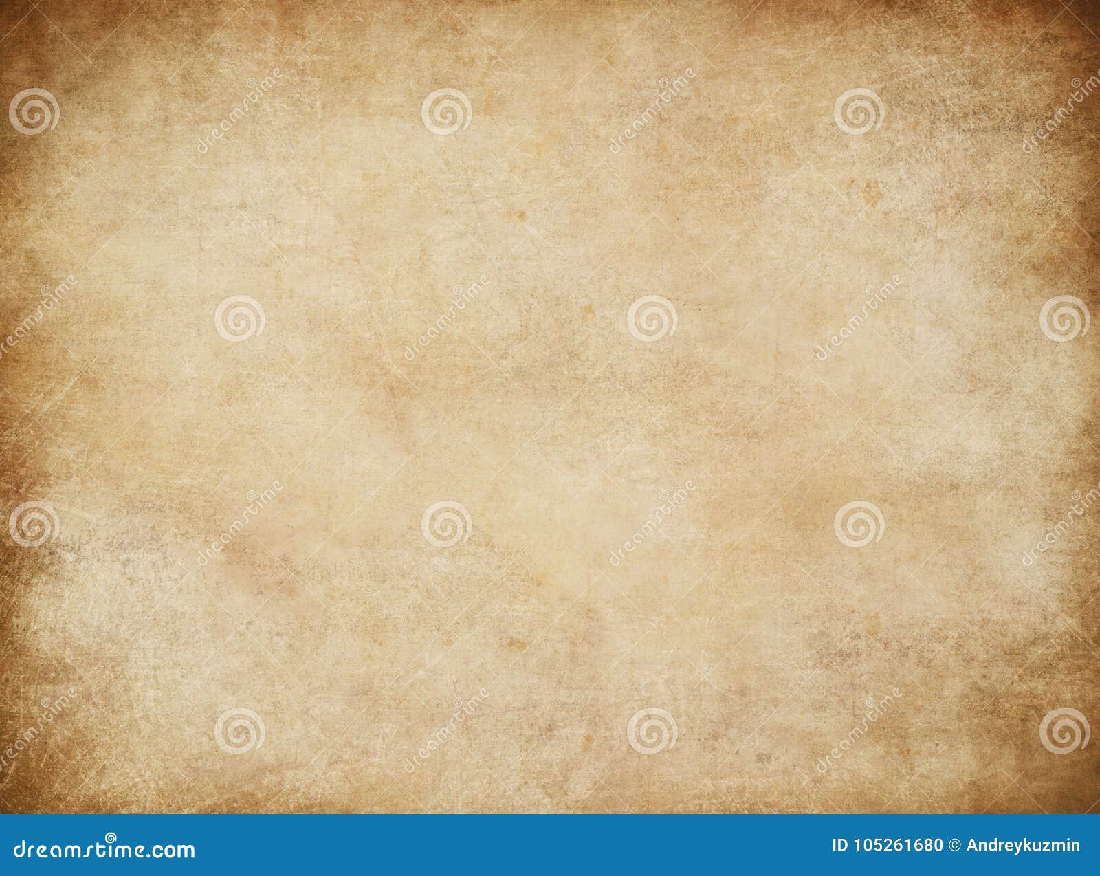 Gammalt papper för Grunge för skattöversikt eller tappningbokstav