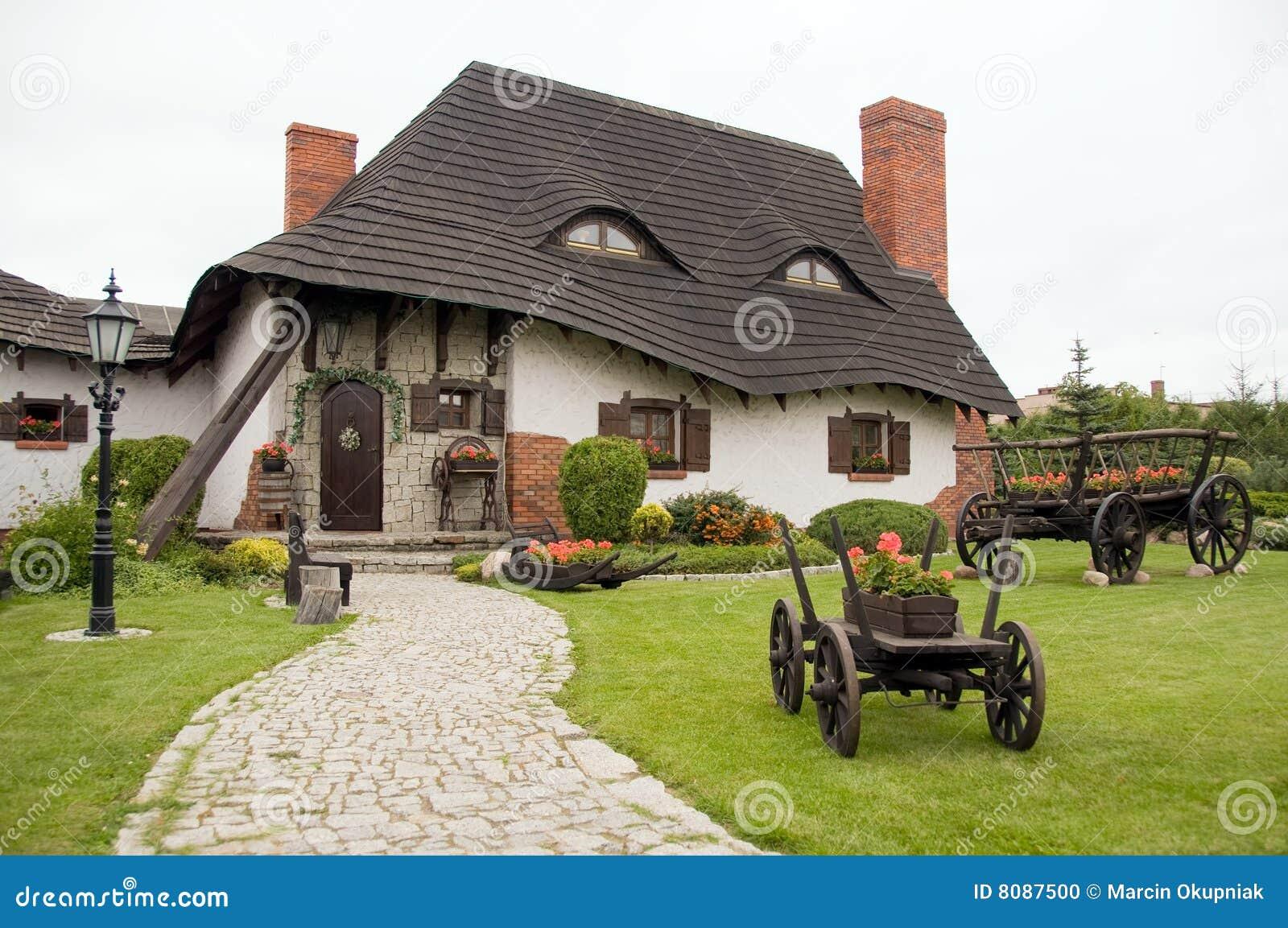 Gammalt polermedel för hus