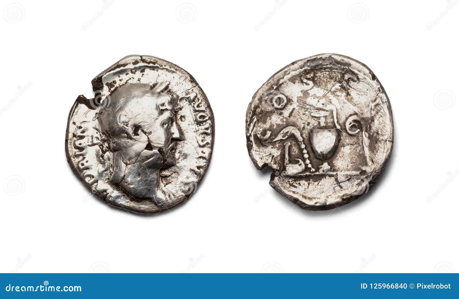 Gammalt roman för mynt