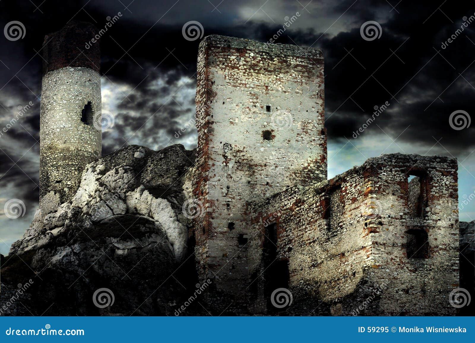 Gammalt slott