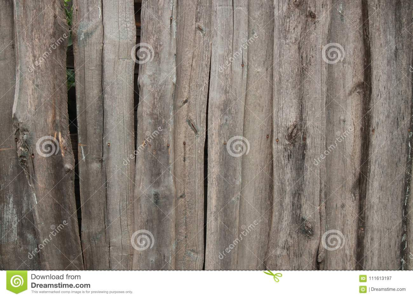 Gammalt trä för staket