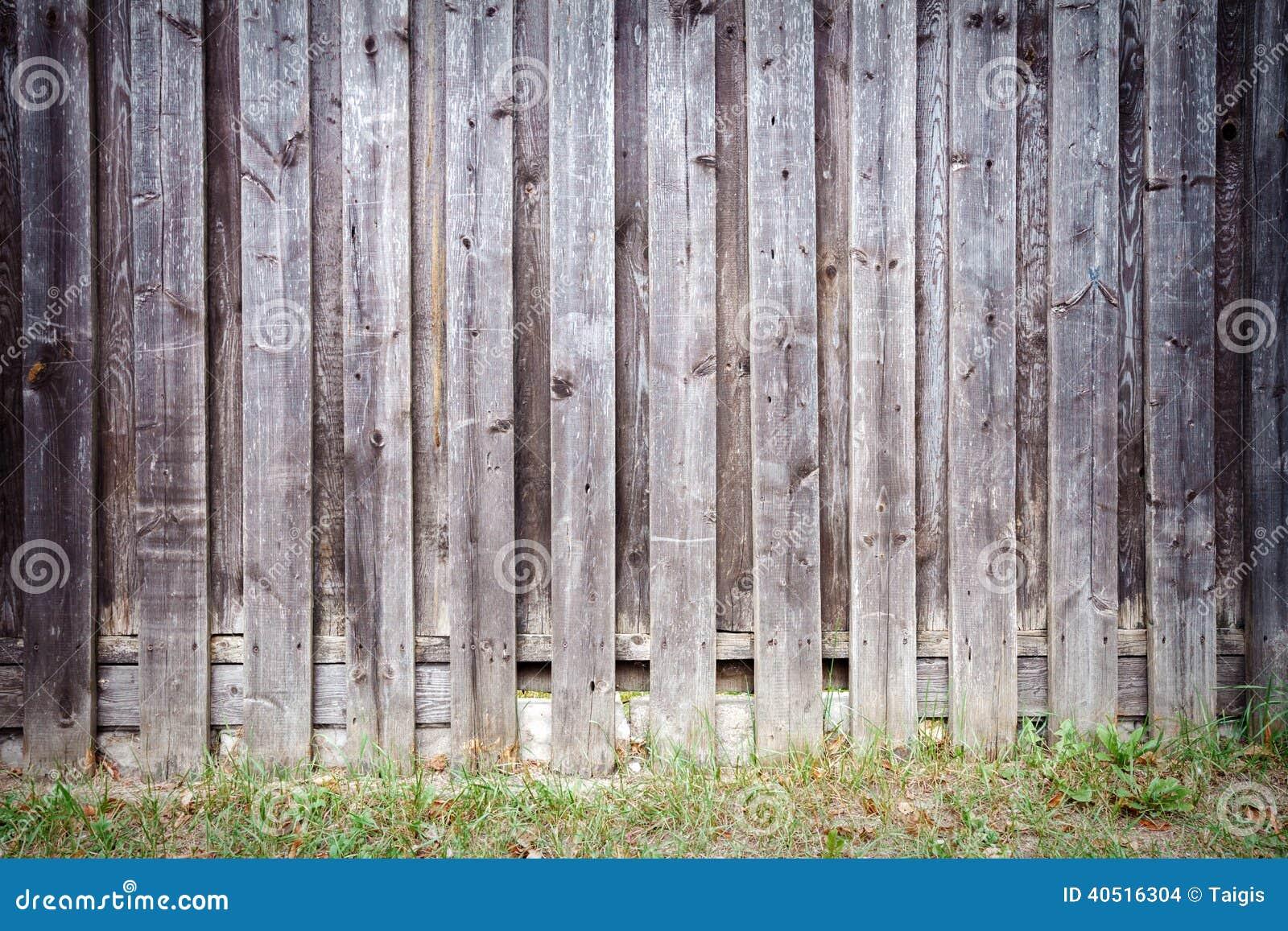 Gammalt trä för staket arkivfoto   bild: 40516304