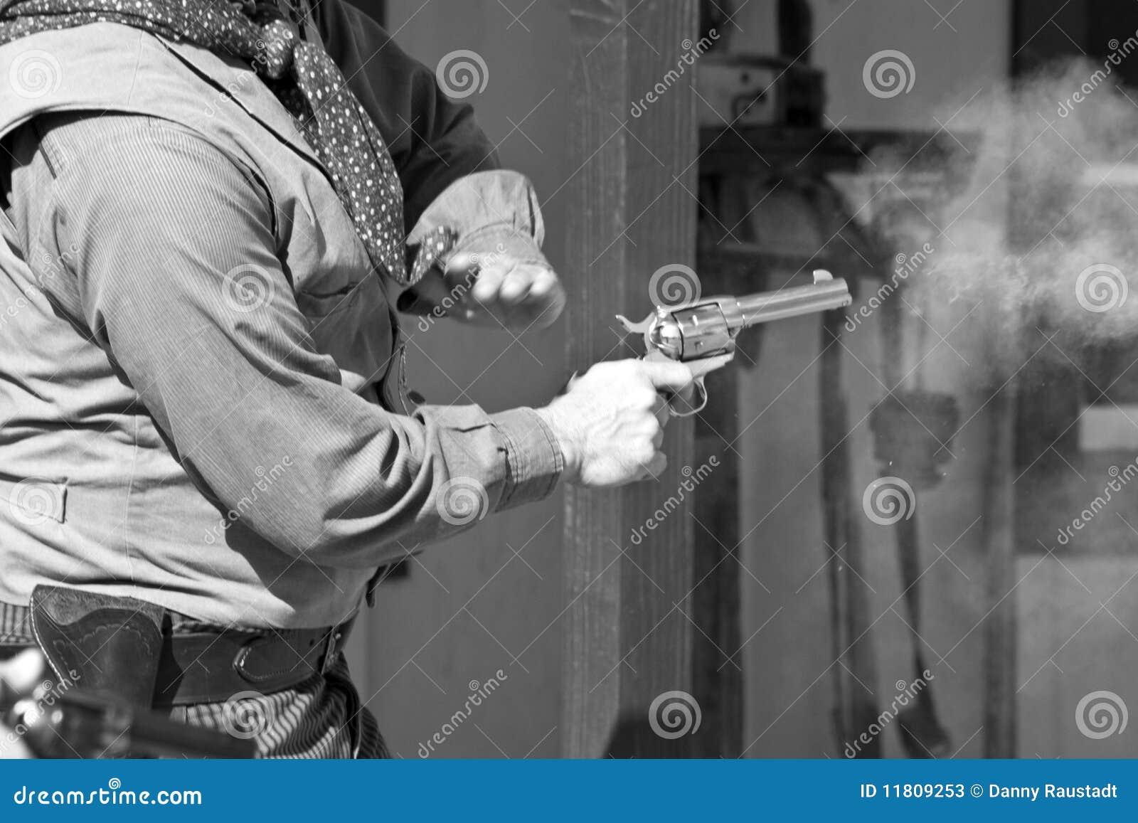 Gammalt västra för gunfight