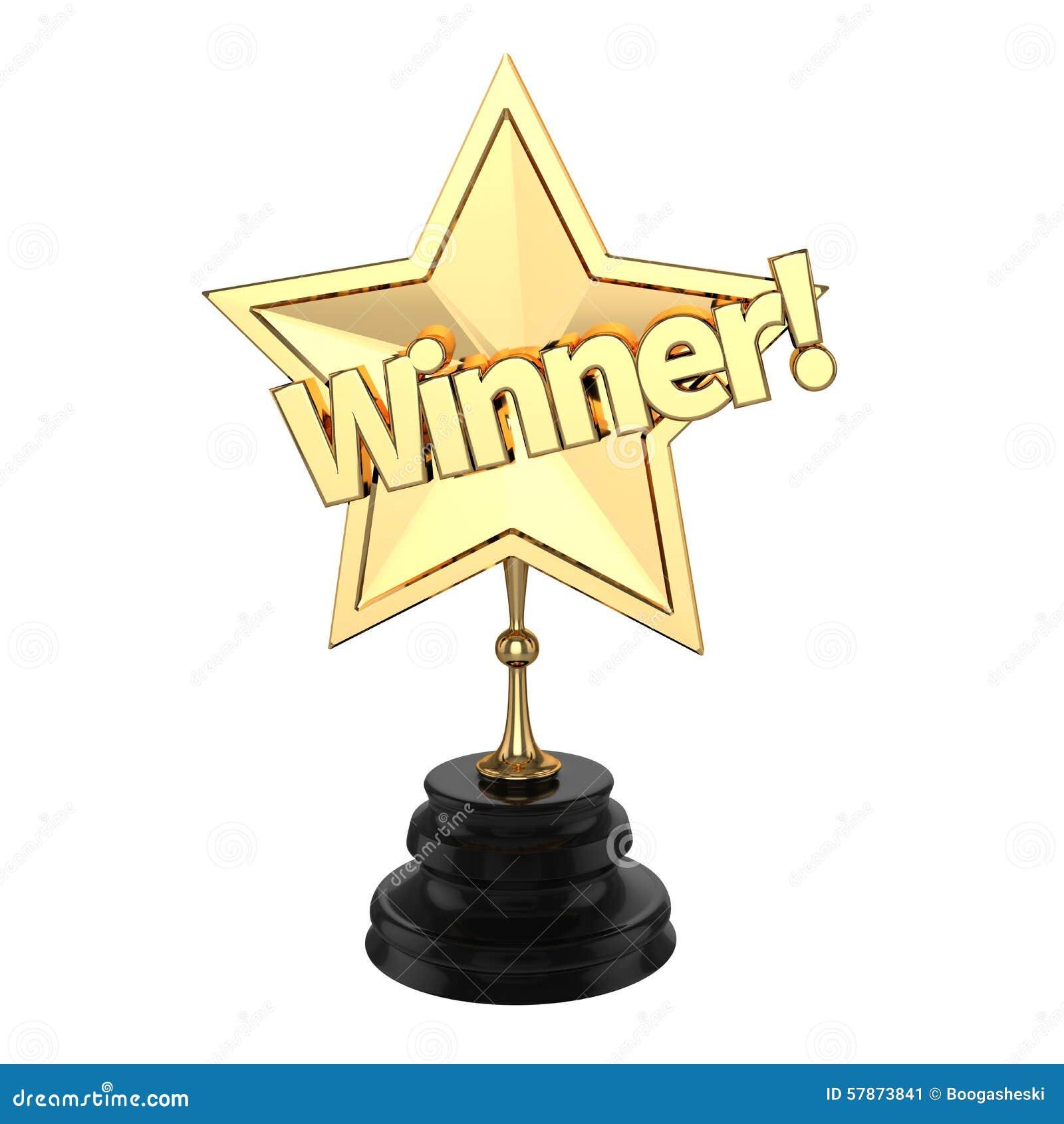 Ganadores Trofeo O Premio Stock De Ilustración