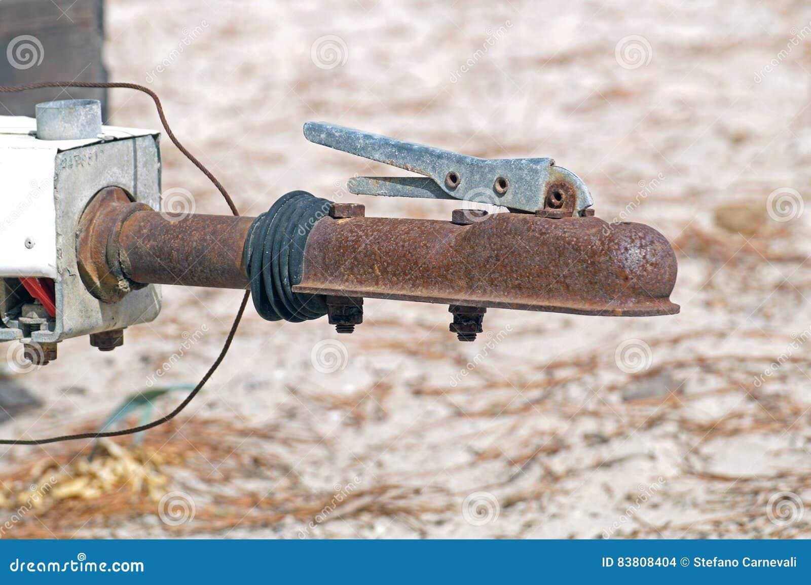 Gancho oxidado del conector de la seguridad del remolque del recortes para remolcar
