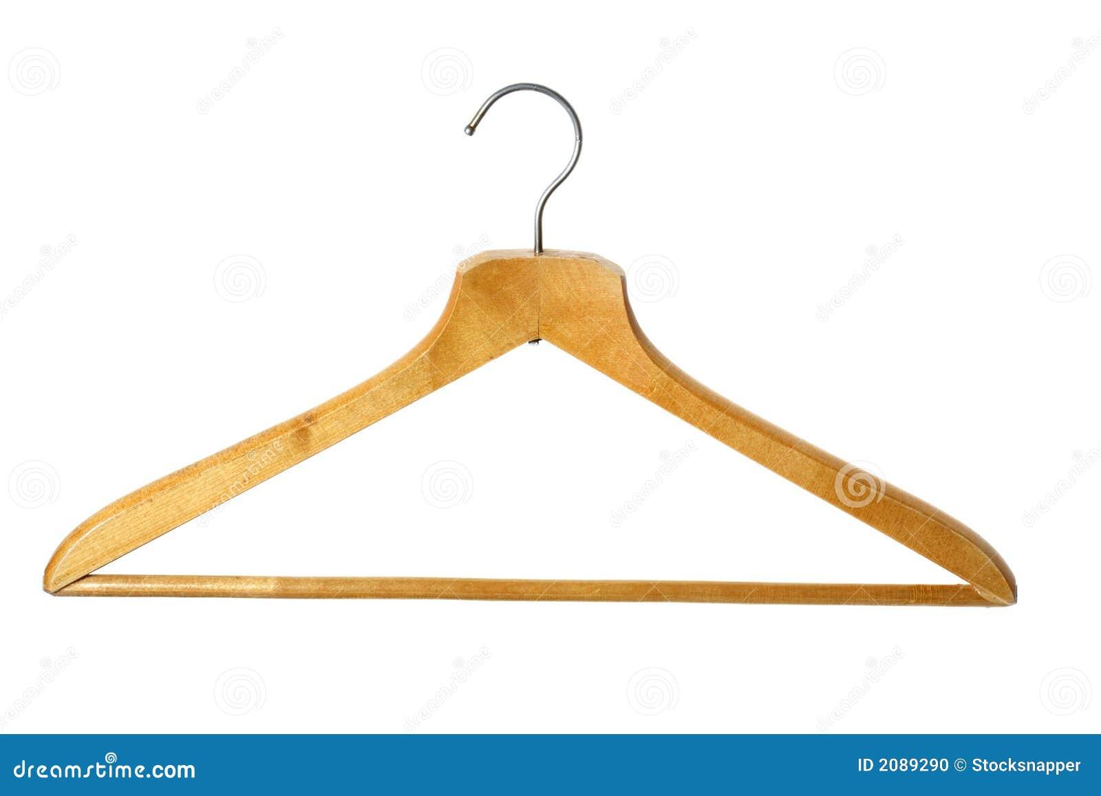 Gancio di cappotto di legno