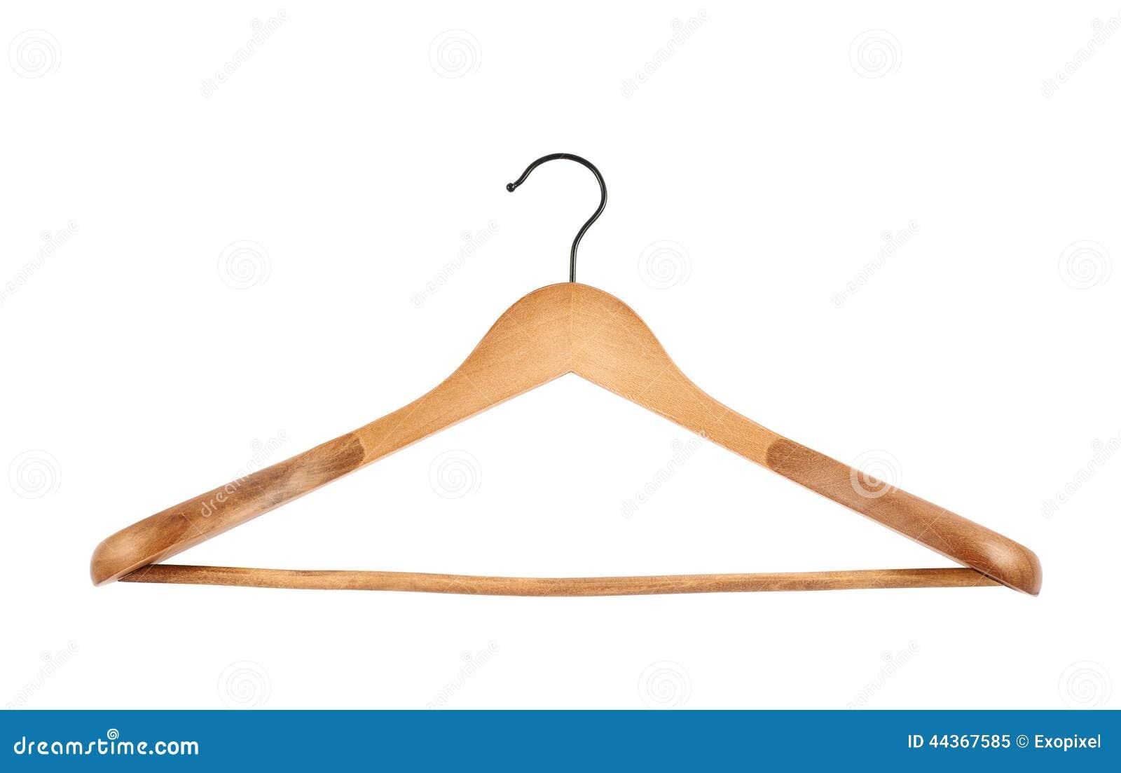 Gancio di cappotto di legno classico