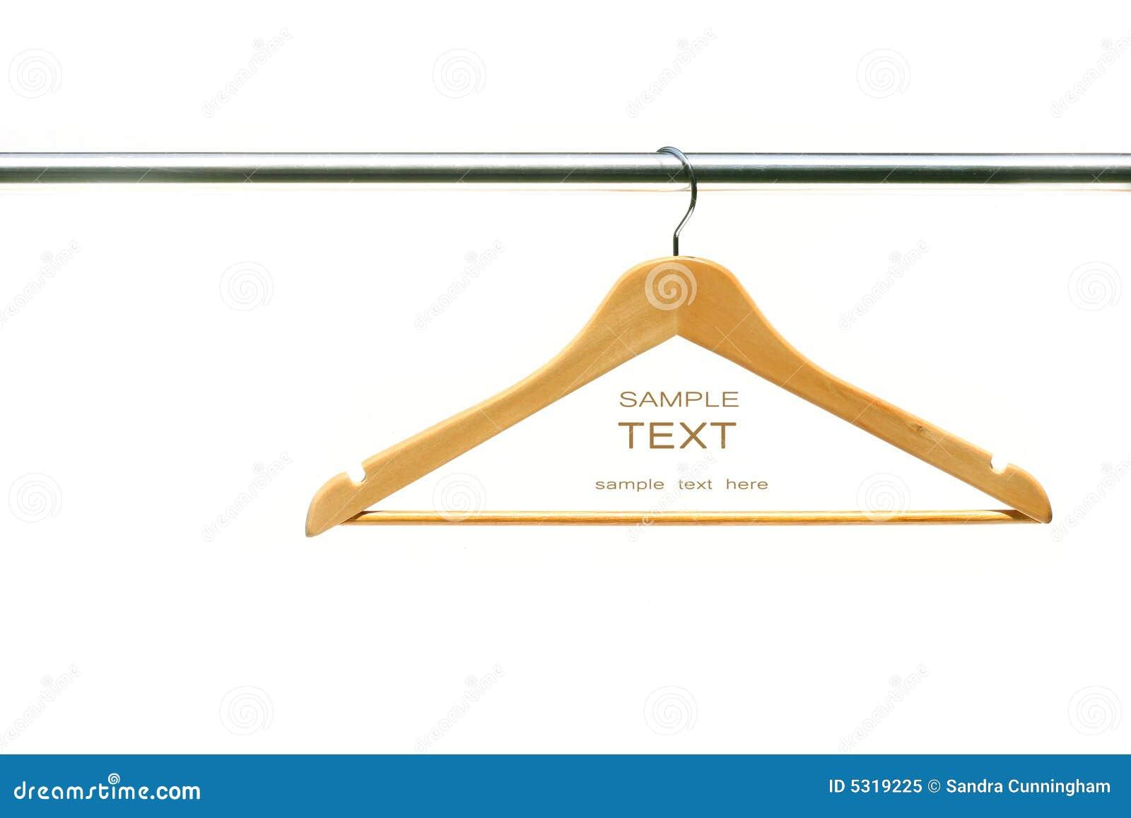 Download Gancio Di Cappotto Sui Vestiti Una Guida Immagine Stock - Immagine di armadio, deposito: 5319225